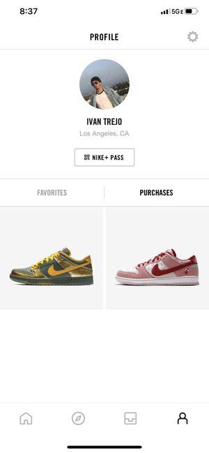 Strange Love Nike SB dunk low for Sale in Los Angeles, CA