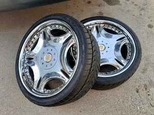 Wheels n tires jdm 2 piece wheels nitto 235-35-19 for Sale in City of Industry, CA