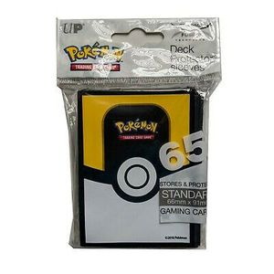 Pokemon Ultra Pokeball Sealed Brand New 65x Ultra Pro Card Sleeves for Sale in Clifton, NJ