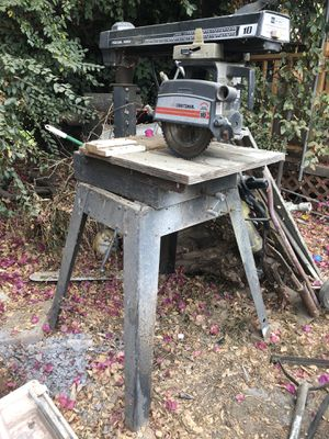 Radial saw tool machine for Sale in Los Angeles, CA
