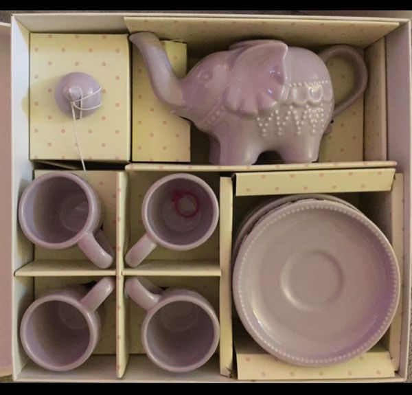 Pottery Barn Kids Elephant Tea Set For Sale In Boynton