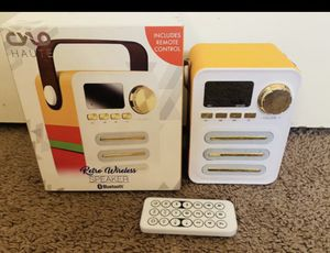 Vintage style Wireless speaker (RARE FIND!) PRICE FIRM for Sale in Orange, CA