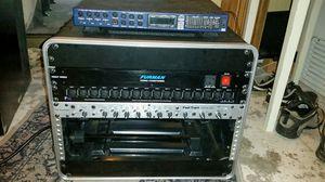 Recording Equipment Furman Power Conditioner, XLR Patch Bay, M-Audio Fast Track Ultra 8R, Rack Flight Case, MOTU Traveller for Sale in Mukilteo, WA