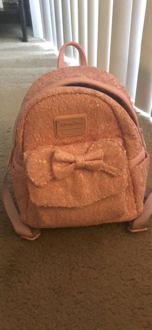 Loungefly pink mini backpack for Sale in Lake Mary, FL