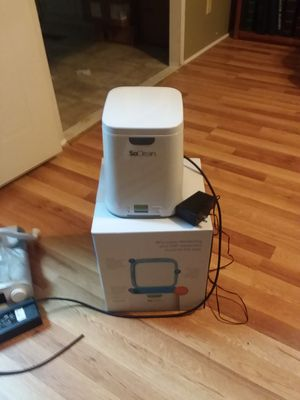 So clean machine for cpap breathing macine for Sale in Summerdale, AL