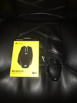 m65 rgb elite gaming mouse for Sale in Cumberland, RI