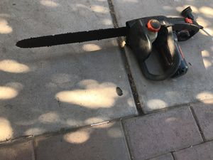 Electric chainsaw for Sale in Avondale, AZ
