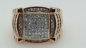 14kt Rose gold mens 2.50cttw approx for Sale in Longview, TX