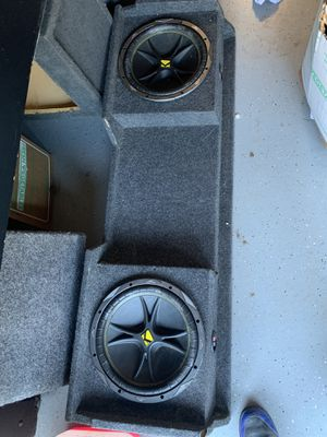 KICKER SUBWOOFER for Sale in Gonzales, CA