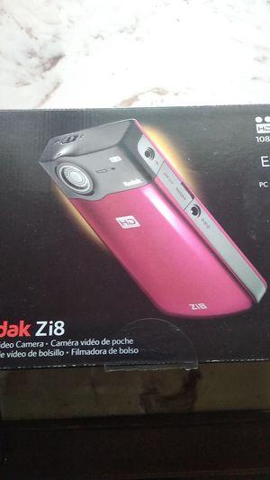 Kodak zi8 camara for Sale in Tacoma, WA