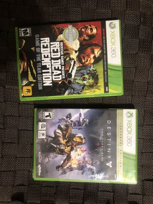Xbox 360 games. 2games. Great deal! for Sale in Miami, FL