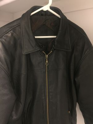 "Vintage Valentino genuine leather jacket Men's Size 52"" Chest 42"" excellent condition - it was purchased for over $1400 for Sale for sale  Atlanta, GA"