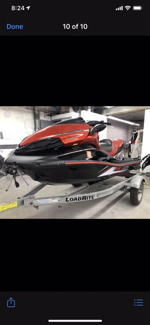 16 Kawasaki. Ultra x 310 supercharge with trailer/warranty for Sale in Queens, NY