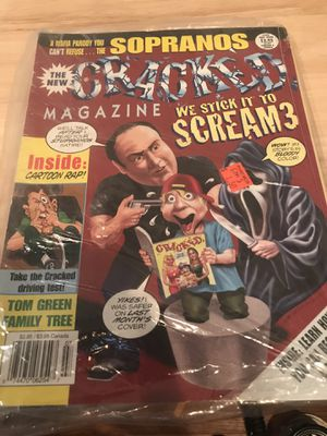 The sopranos cracked magazine for Sale in Mount Carmel, PA