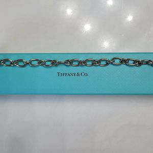Tiffany & Co sterling silver oval link bracelet for Sale in Spring Branch, TX