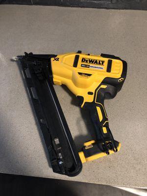DeWalt cordless nail gun for Sale in San Diego, CA