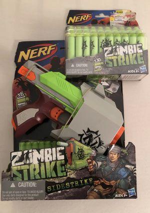 Zombie strike nerf gun and bullets for Sale in Oak Glen, CA