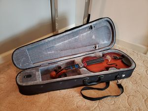 Violin 4/4 Bestler with case Shanghai for Sale in Chambersburg, PA