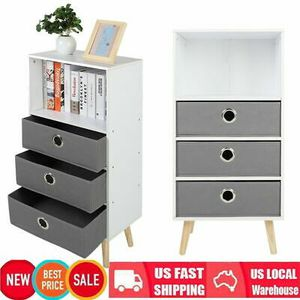 Bookshelf with 3 Drawers Home Office Storage Cabinet Furniture for Sale in San Diego, CA
