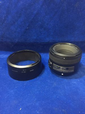 Nikon AF-S Nikkor 50mm 1:1.8 G Camera Lens for Sale in Marietta, GA