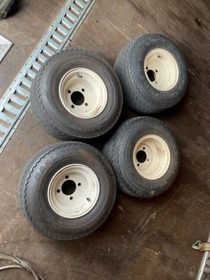 Golf cart wheels tires for Sale in Kent, WA