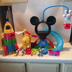 Mickey Mouse Clubhouse & Spaceship Toys for Sale in Mesquite,  TX