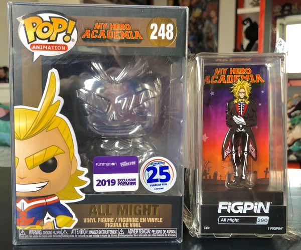 My hero Academia All Might Funko Pop & Pin