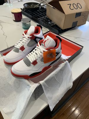Jordan 4 fire red for Sale in Chantilly, VA