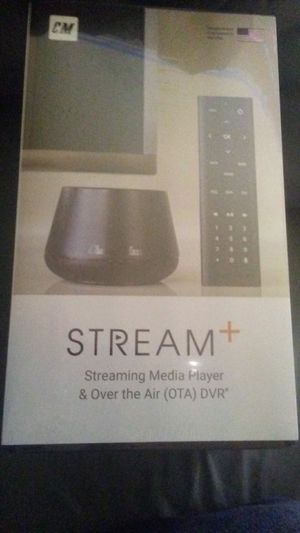 Stream+ streaming & over the air(OTA) DVR for Sale in Bellevue, WA