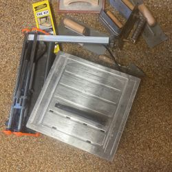Tile Saw, Tile Cutter, Various Tile/grout Tools for Sale in Independence,  OH