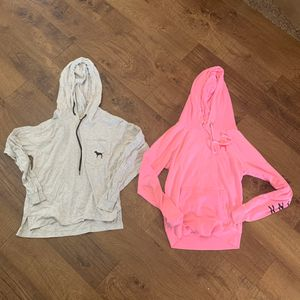2 pink by Victoria's Secret LS tops XS for Sale in Plano, TX