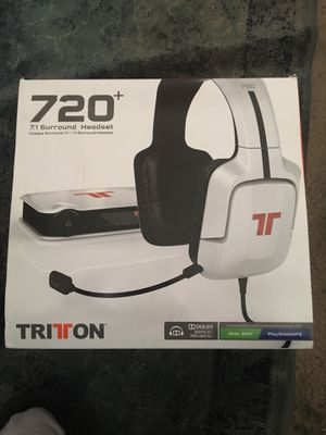 Tritton 720+ Video Gaming Headphones NEW IN BOX for Sale in San Jose, CA