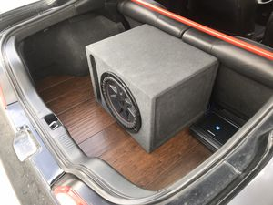 """Subwoofer box 12"""" ported for Sale in Stockton, CA"""