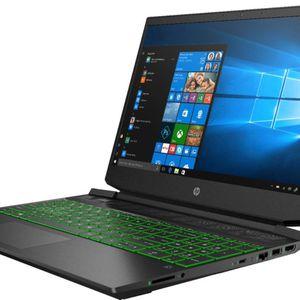 "HP Pavilion 15.6"" Gaming Laptop AMD Ryzen 5 - 8GB Memory - NVIDIA GeForce GTX 1650 256GB SSD Black for Sale in Miami, FL"