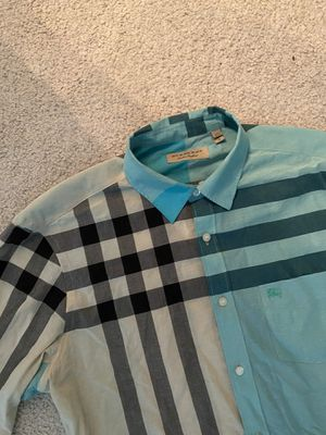 MENS Burberry Button Down Sz XL - Good Condition for Sale in PA, US
