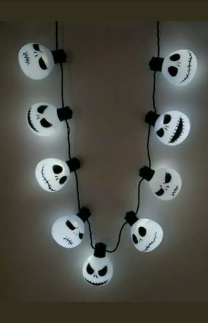 "Disney's""The Nightmare Before Christmas"" light up necklace for Sale in Pittsburg, CA"