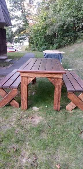 Hand made picnic table for Sale in Waterbury, CT