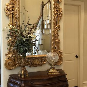 Extremely Large Wall Mirror Vintage 4'x6' for Sale in Humble, TX