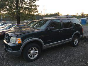 2002 Ford Explorer XLT ( Needs Transmission ) for Sale in Silver Spring, MD