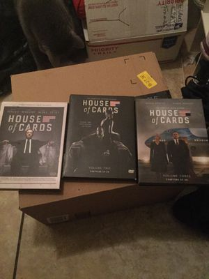 House of cards 3 season set complete $15 for Sale in Phoenix, AZ