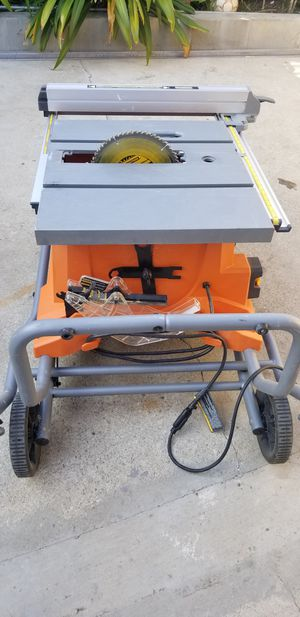 """RIDGID 10"""" TABLE SAW for Sale in Commerce, CA"""