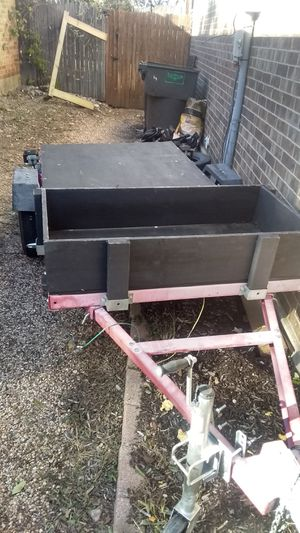 4 by 8 utility trailer for Sale in Fort Worth, TX