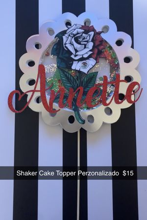 Personalized Cake topper for Sale in Odessa, TX