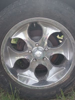 265/50R20 rims and tires for Sale in Wenatchee, WA