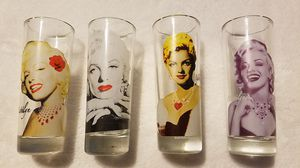 collectible Marilyn Monroe shot glasses for Sale in Moreno Valley, CA