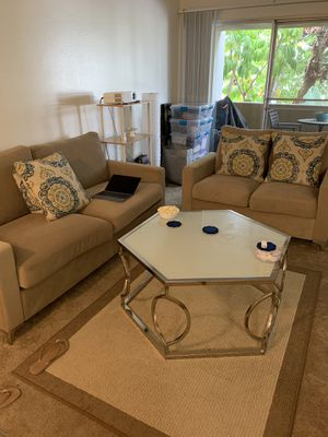 Couch Loveseat, Coffee Table for Sale in San Diego, CA