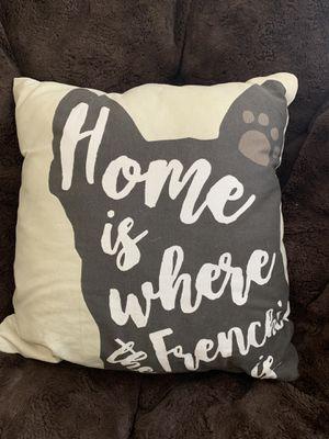 French Bulldog Decor Pillow for Sale in Wheat Ridge, CO