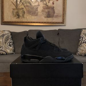 Nike Air Jordan 4 Black Cat for Sale in Bowie, MD