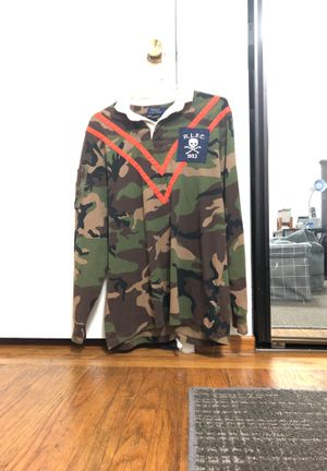 Polo camo rugby shirt for Sale in San Francisco, CA