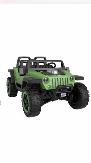 Power wheels jeep hurricane for Sale in Gaithersburg, MD
